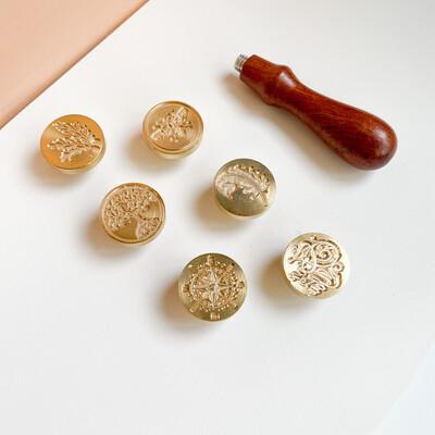 Set 6 sellos- Naturaleza