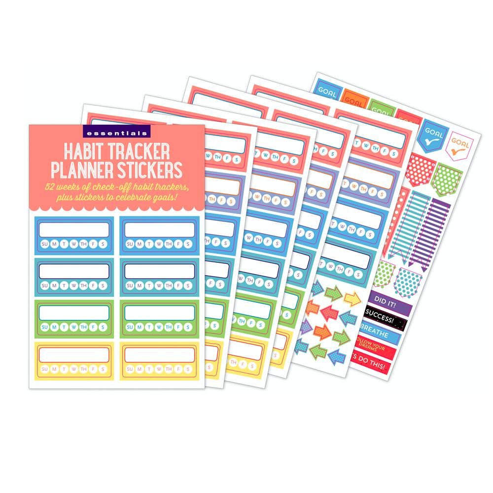 Habit track- Planner Stickers
