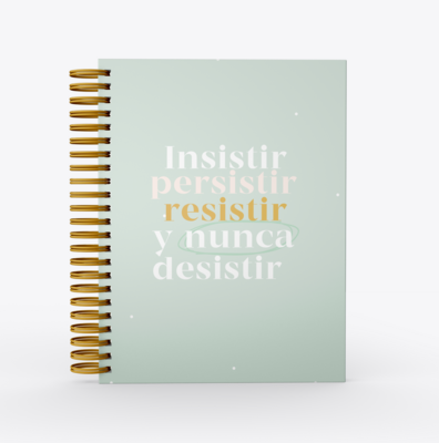 Planificador Dominga SelfLove- Persistir