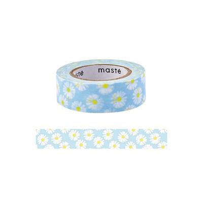 Washi Masté- Flower blue