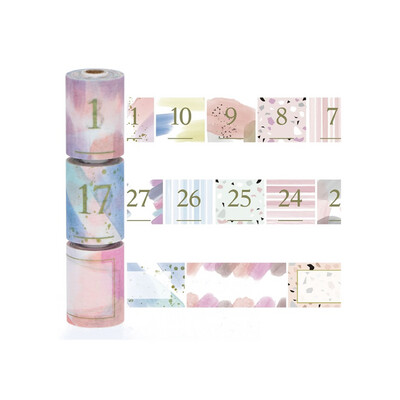 Washi Masté- Paint Numbers