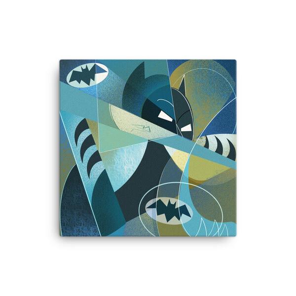 Picasso Bat Canvas Print