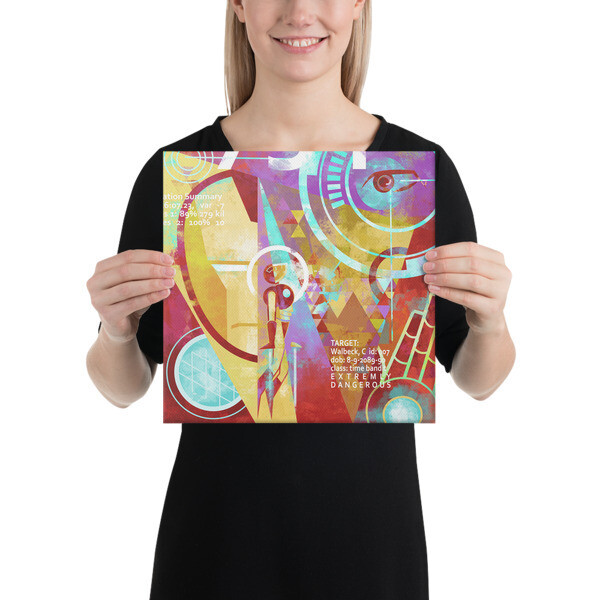 Target Acquired, Canvas print