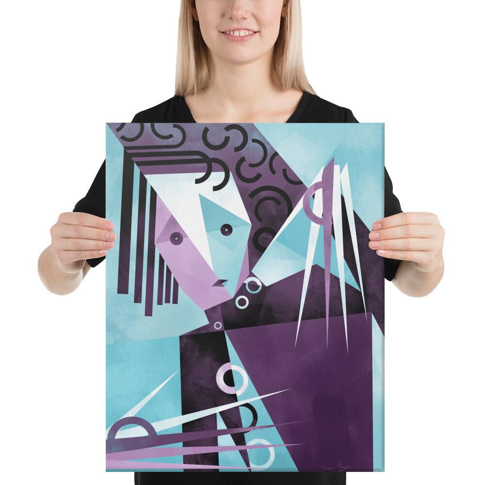 Mr. S. , Canvas Art Print
