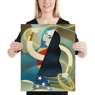 Diana, Luster Art Print