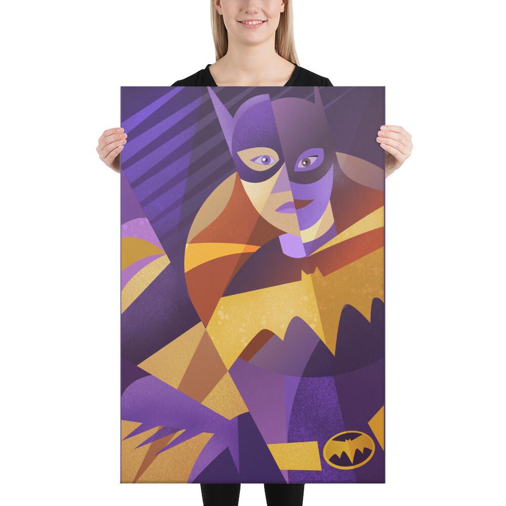 Ms. Gordon, Art Print On Canvas