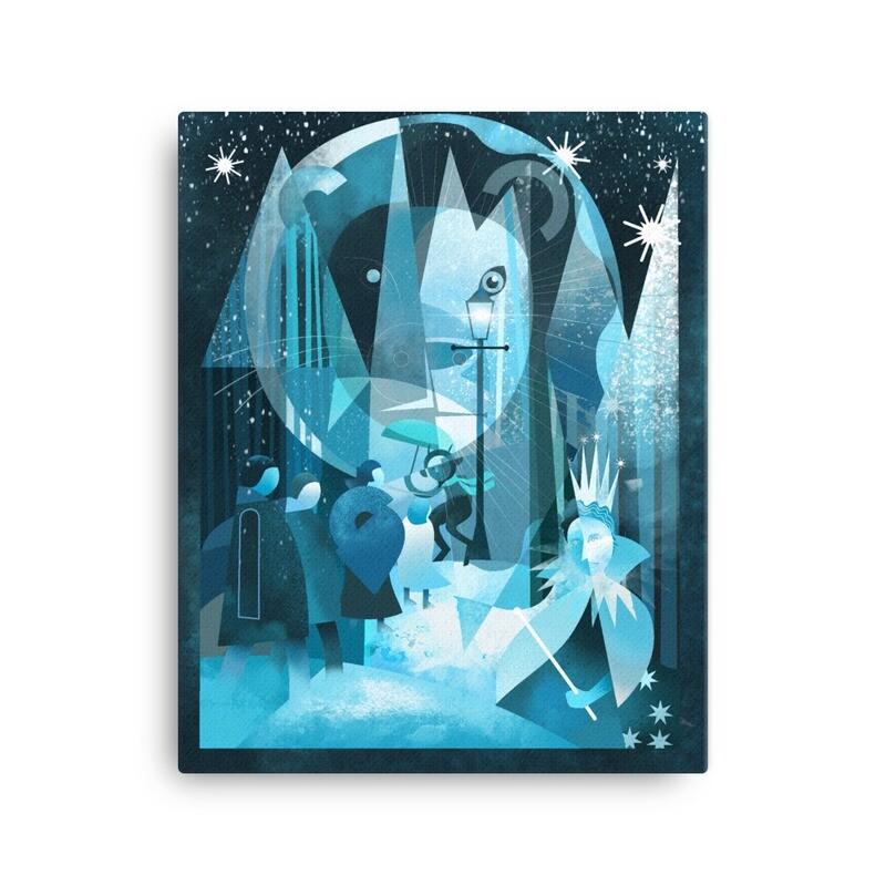 Narnia, fine art canvas print