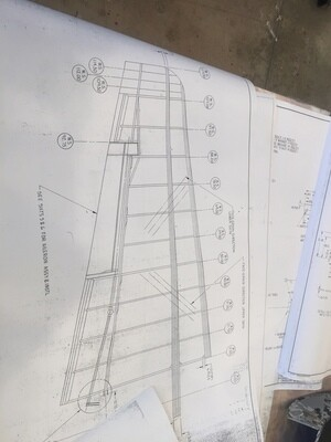 Taper Wood Race Wing Plans