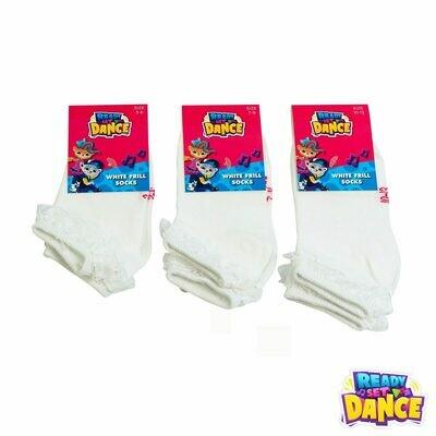 Ready Set Dance Frill Socks 1 pair
