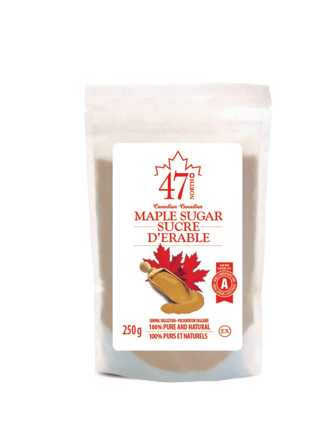 250g Organic Maple Sugar