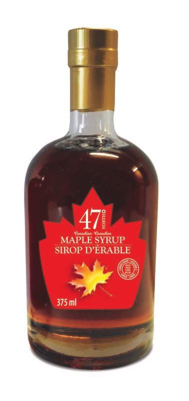 375ml Organic Maple Syrup Leo Bottle