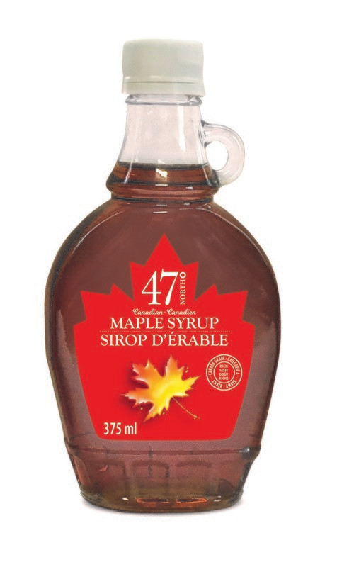375ml Organic Maple Syrup Traditional Glass Bottle