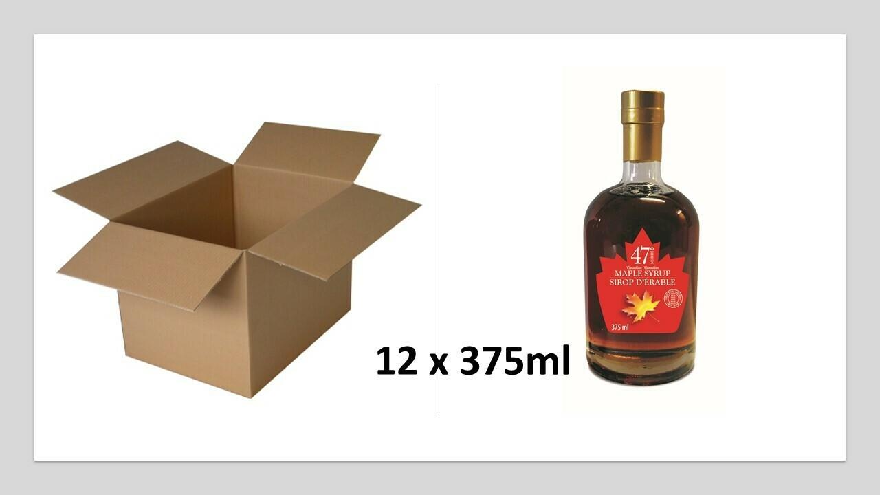 12x375ml Leo Glass Bottle