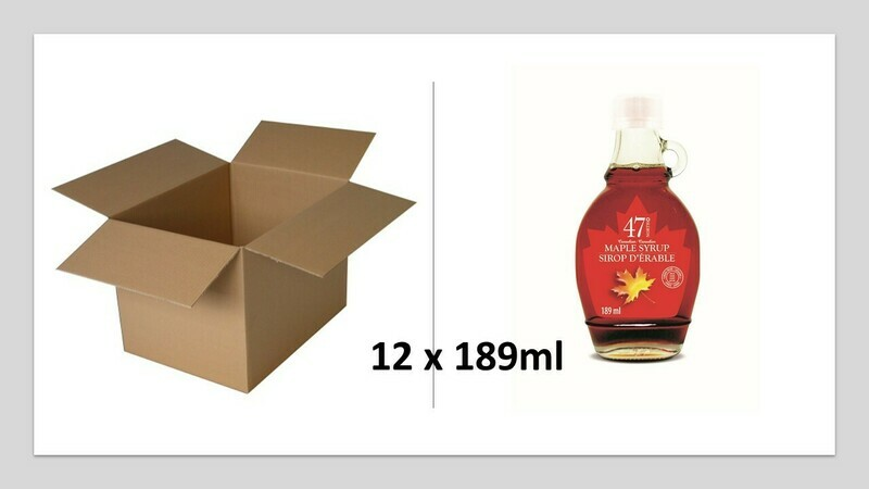 12x189ml Traditional Glass Bottle