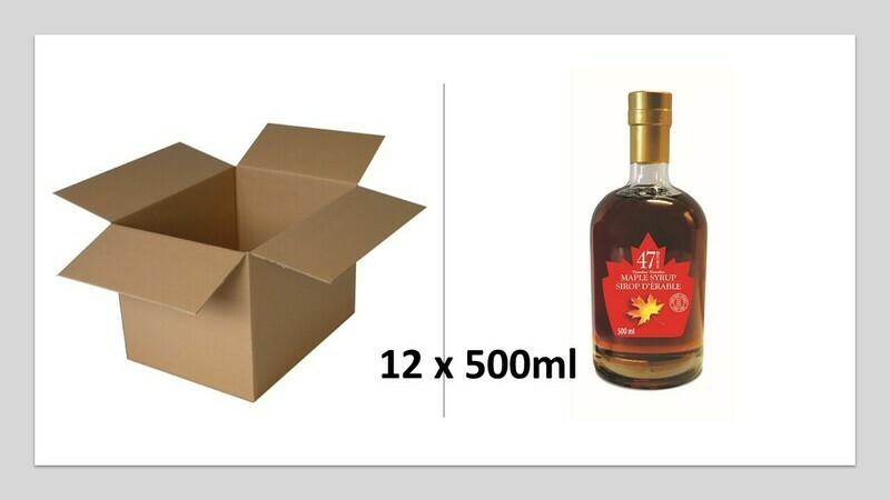 12x500ml Leo Glass Bottle