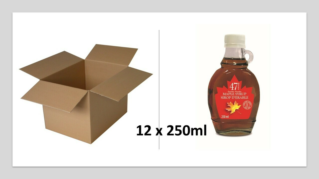 12x250ml Traditional Glass Bottle
