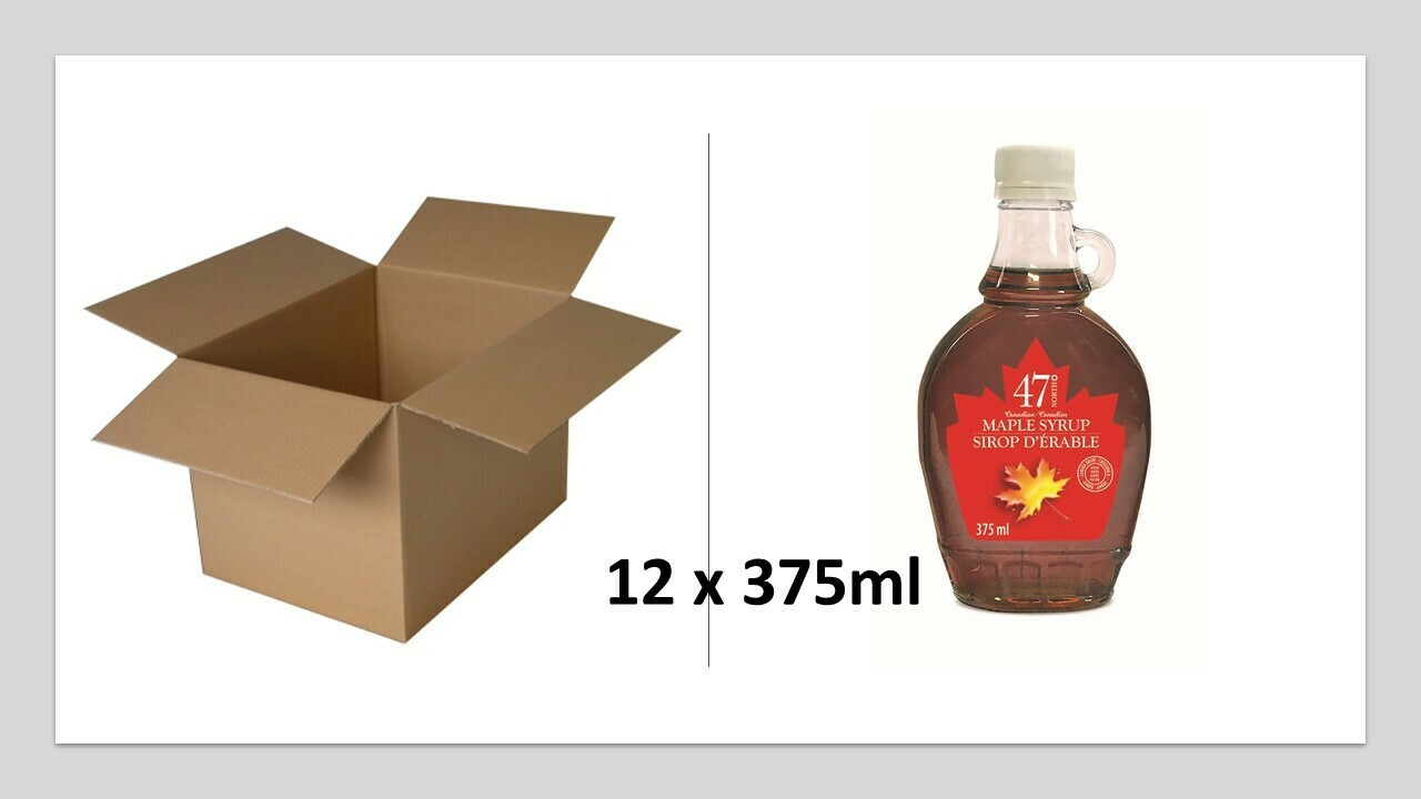 12x375ml Traditional Glass Bottle