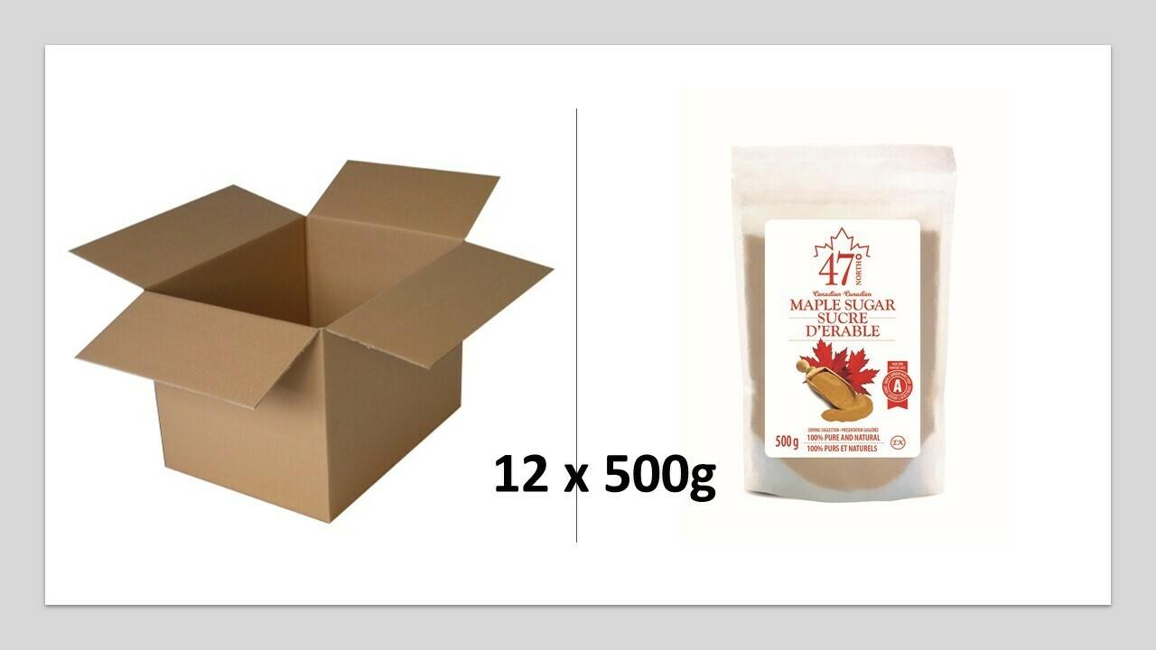 12x500g Organic Maple Sugar
