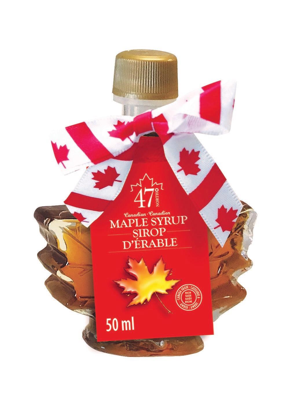 50ml Organic Maple Syrup Maple Leaf