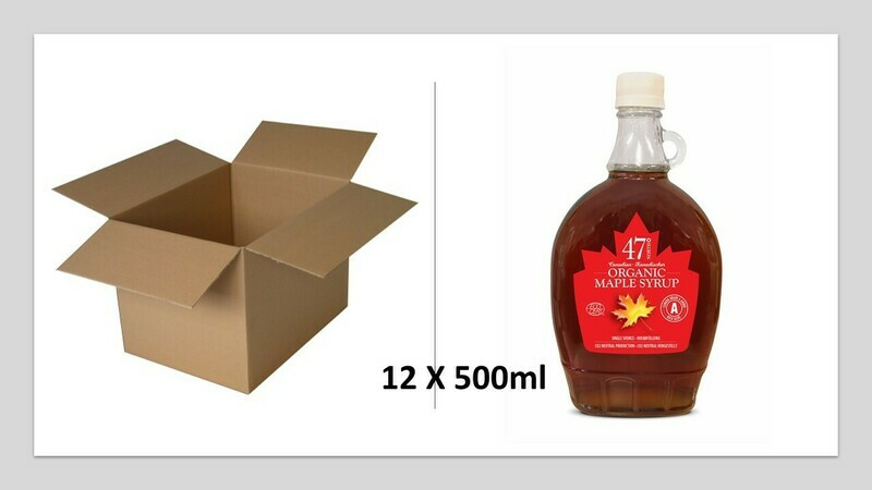 12 x 500ml Traditional Glass Bottle