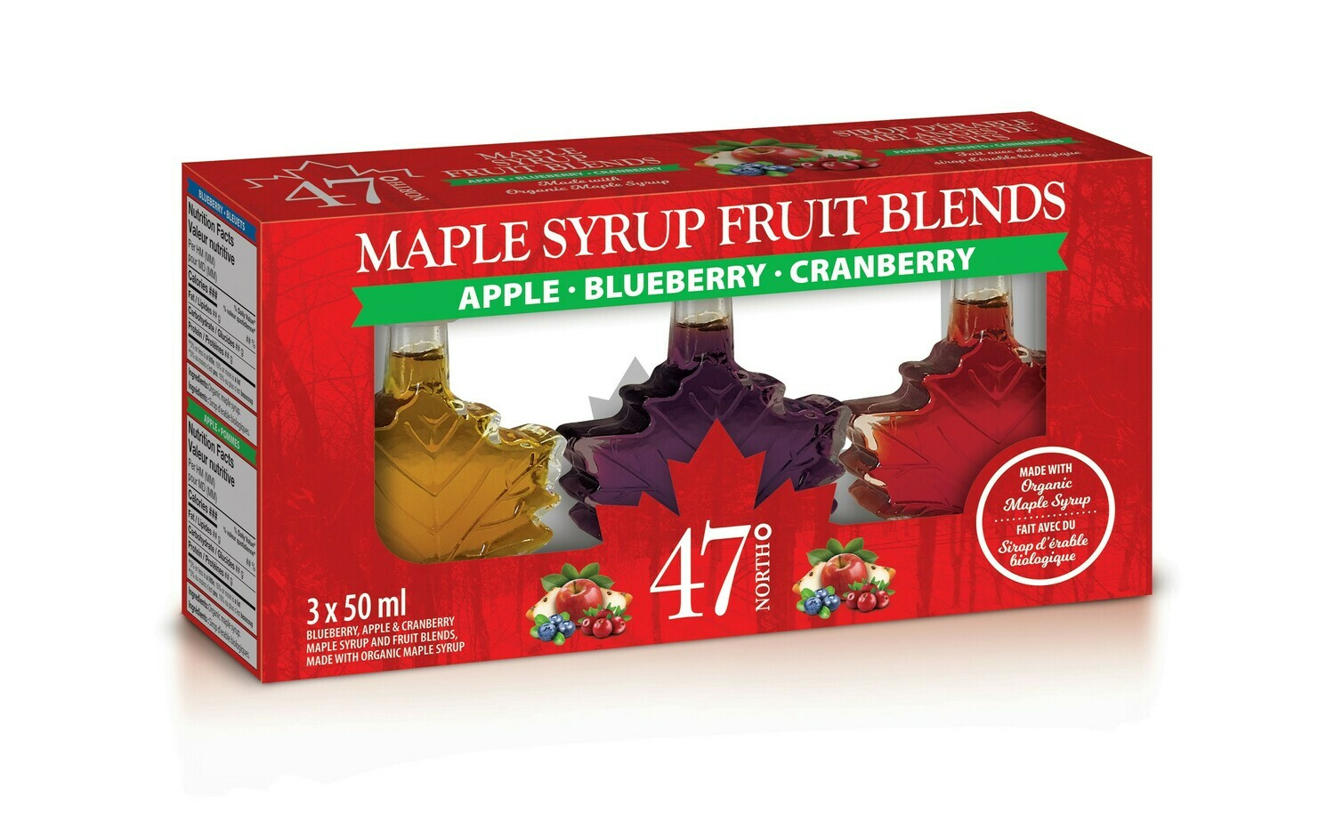 Maple Syrup Fruit Blends Gift Pack