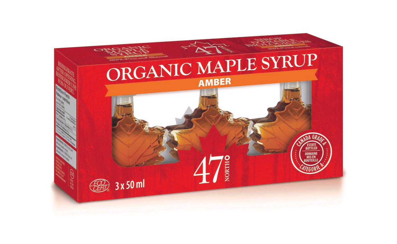 Organic Maple Syrup Gift Pack