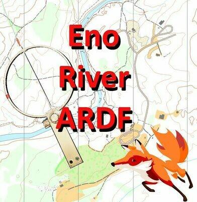 Eno River Fews Ford 80m Classic ARDF Radio'O 4/18/21