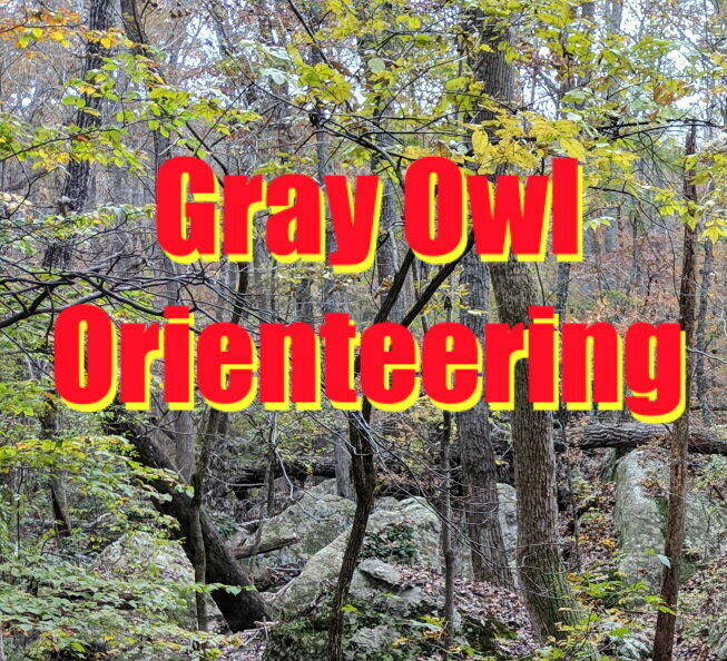 SUNDAY, Gray Owl Open Orienteering, 3/7/21