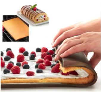 Non-stick Silicone Oven Cake Roll Mat 2 pcs set