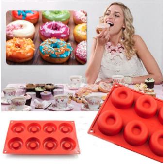 Silicone Donut Baking Mold 2 pcs set