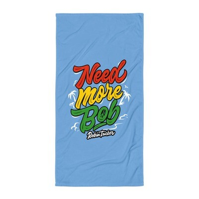 Need More Bob Beach Towel