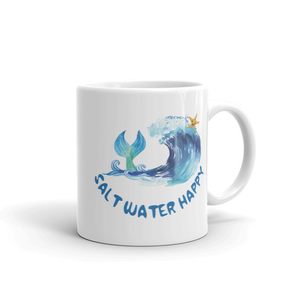 Salt Water Happy Mug