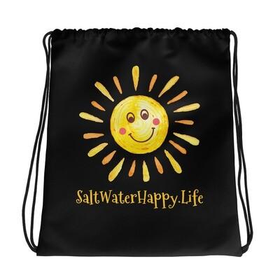 SaltWaterHappy.Life Drawstring bag