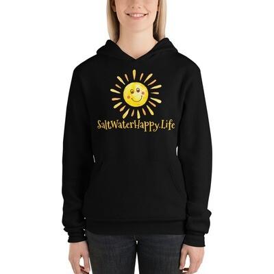 Salt Water Happy Sun Unisex hoodie