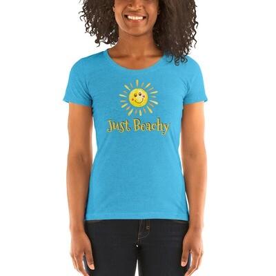 Just Beachy Ladies' short sleeve t-shirt