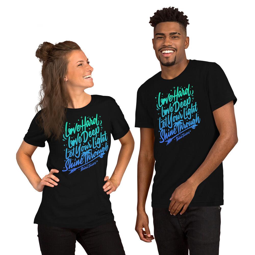 Love Hard Love Deep Short-Sleeve Unisex T-Shirt