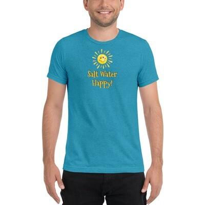Salt Water Happy! Short Sleeve T-shirt