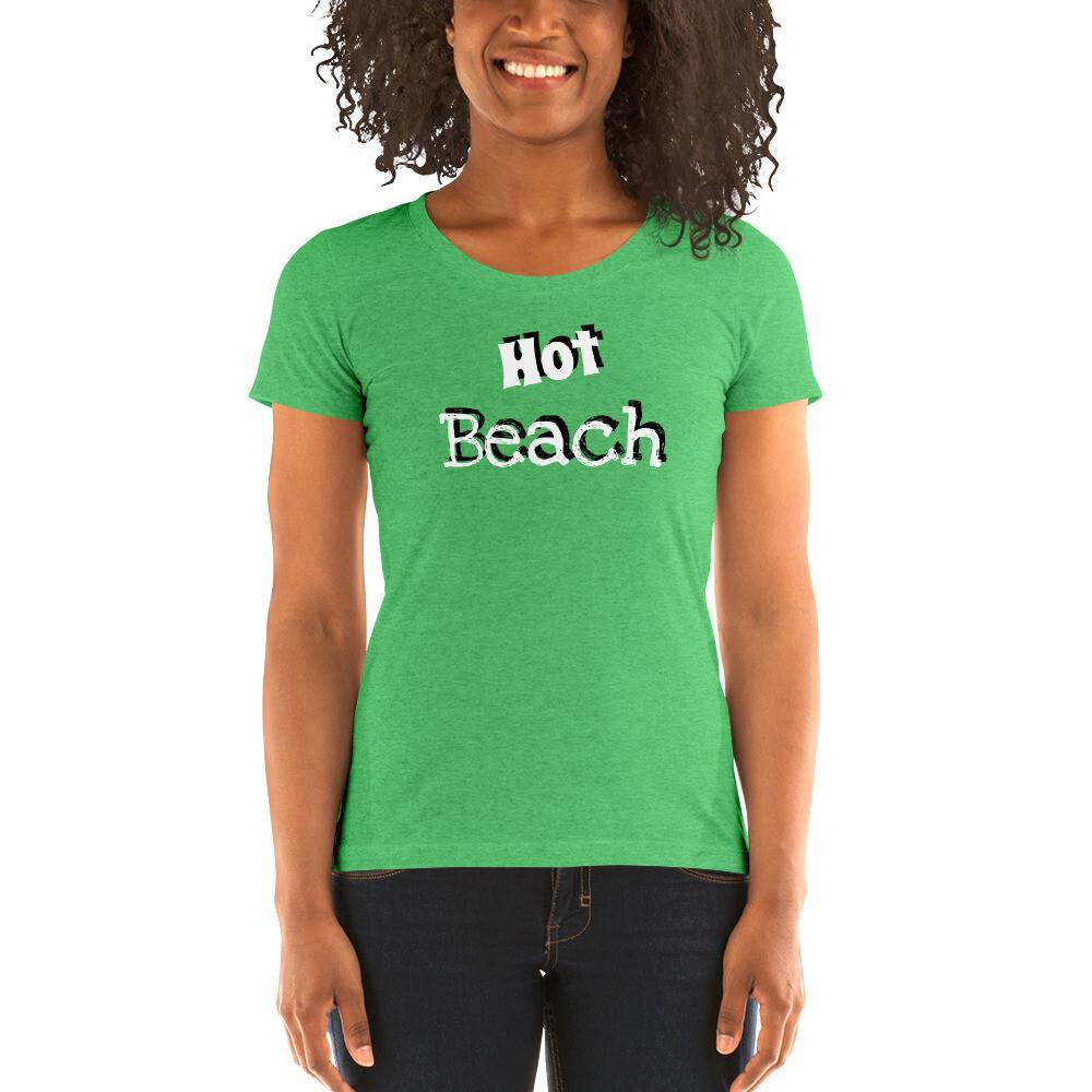 Hot Beach Ladies' Short Sleeve T-shirt