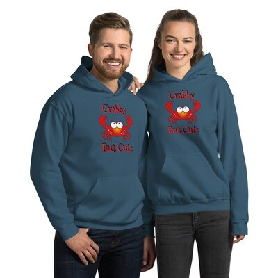 Crabby But Cute Unisex Hoodie