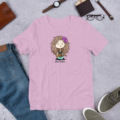 Ukulele Girl Short-Sleeve Unisex T-Shirt
