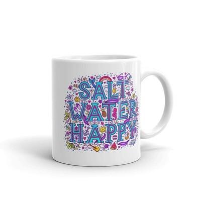 Salt Water Happy Mug