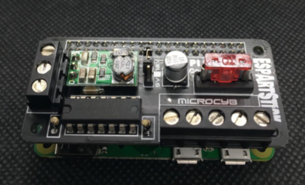 Raspberry Pi Pixel HAT Controller Dual Output 5v - 12v