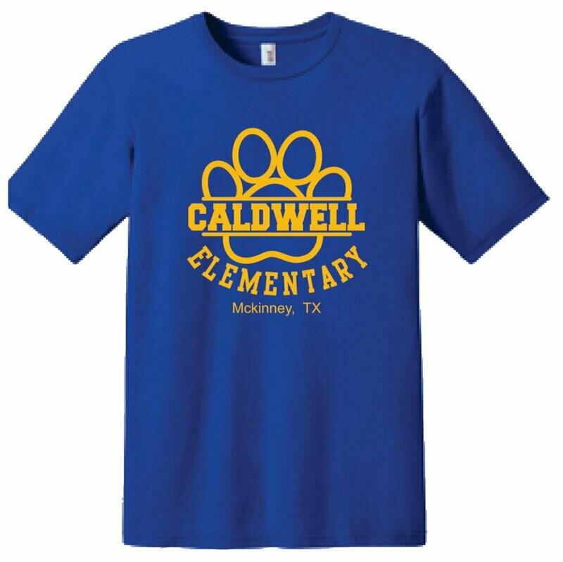 Caldwell Logo T-shirt - Adult & Kids