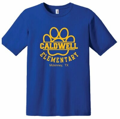 Caldwell Logo T-shirt - Adult & Kids