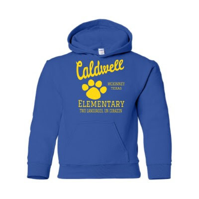 Caldwell Royal Hoodie - Youth sizes