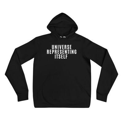 Universe Representing Itself Unisex hoodie
