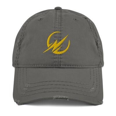 Distressed Elite ID Fitness Dad Hat