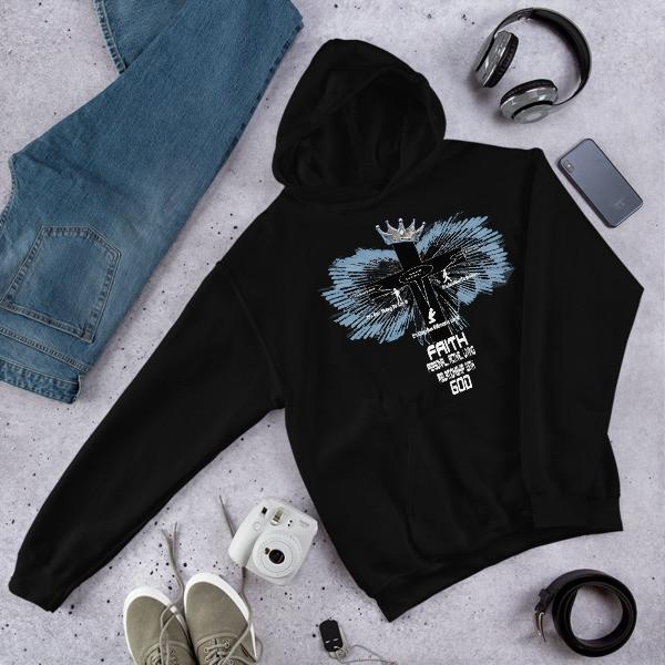 Real Faith - Unisex Hooded Sweatshirt