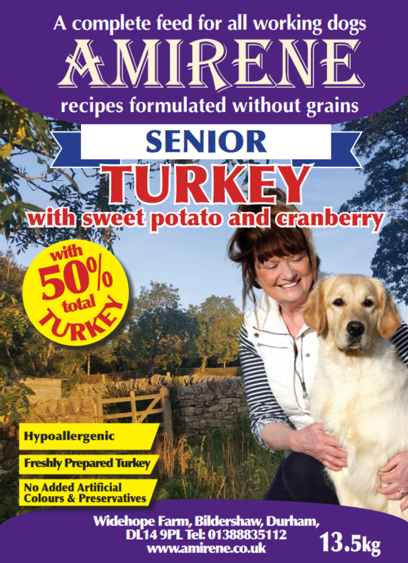 SENIOR Turkey with sweet potato and cranberries