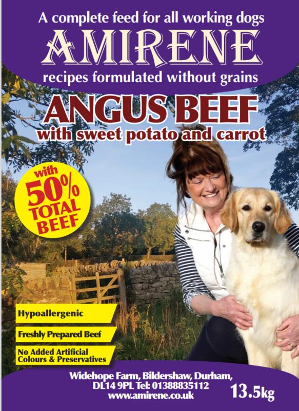 Angus Beef, Sweet Potato & Carrot